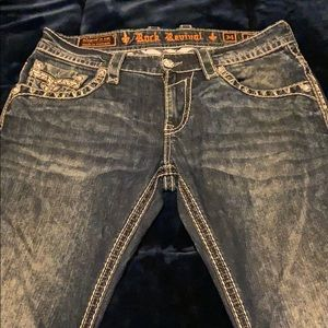 Authentic Rock jeans, worn 2X, perfect condition